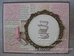 Stamp & Scrap with Frenchie: Stampin'Up! Morning Cup