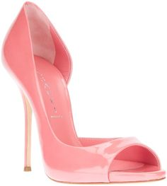 Pink #shoes by #Casadei