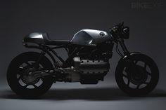 Naked BMW K100 - so tough