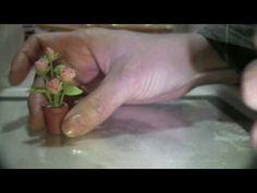 roses air dry clay DIY