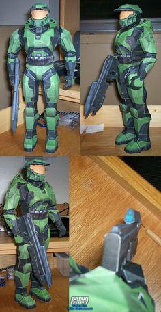 diy Halo 3 Origami