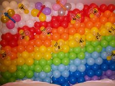 Noah's Ark and Rainbow Themed Party Decoration Ideas on Pinterest