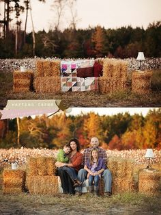 Fall is my favorite time of the year! I love the colors of the trees, the hay, the sun setting early. And there is always this smell in the air- fresh, cool and crisp and it gives you small glimpse of the holidays! This picture is so comforting and reminds me of home! #jenniferwarthan