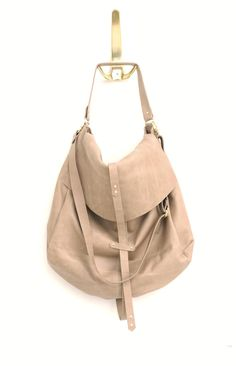 Hobo bag. Because basic doesn't have to be boring.