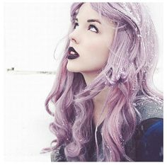lavendar hair | Tumblr