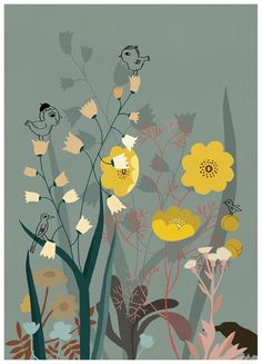 Forest poster by Camilla Engman
