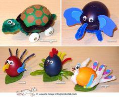 anim egg, easter eggs, kid crafts