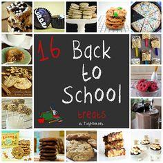 16 Back to #School treats