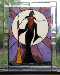 Stained Glass Witch
