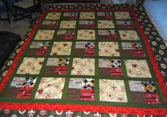 Boy Scout Quilt by sewjoyce at Quilting Board photo quilt, man quilt, quilt idea, quilt board, scout quilt