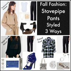 Fall Fashion: Stovepipe pants styled 3 ways - Savvy Sassy Moms