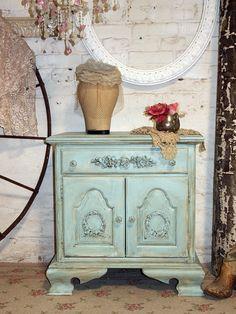 Painted Cottage Shabby-Chic Aqua