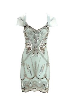 Vintage Beaded Dress from Missiny