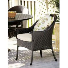 Set of 2 Amalfi Wicker Arm Chairs   Chairs   Seating   Ballard Designs