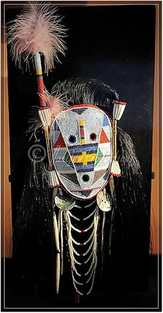 American Indian Museum - mask, via Flickr.