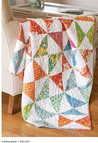 Indian Summer Quilt Kit from ShopFonsandPorter.com