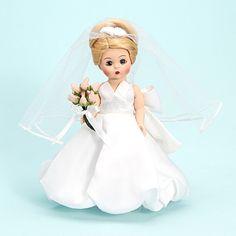 "8"" Madame Alexander bride doll"