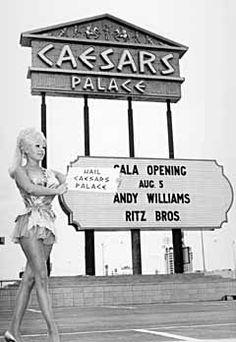 Caesars Palace Casino grand opening, Las Vegas