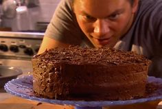 A Gooey, Decadent Chocolate Cake from FoodNetwork.com