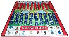 Stratego:  One of the best board games. (The original version!)