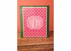 Shutterfly | Customized printable monogram - free and easy to do! http://forchicsake.com/printable-monogram/ - This is for you Maggie!!! great for bottle cap jewelry, glass tile jewelry & fridge magnets too! #ecrafty