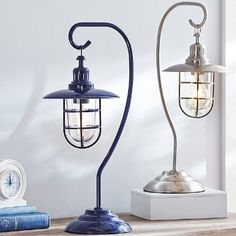 Trade in your typical desk lamp for one that reminds you of your favorite beach vacation every day of the year.