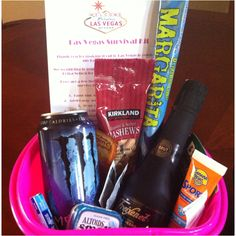 Vegas Bachelorette Survival Kit