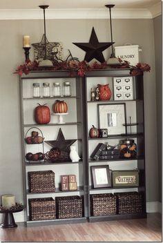 Ideas for shelves in the living room