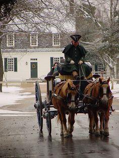 Williamsburg at Christmas.