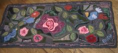My Garden Rug. Completed in the Fall of 2011