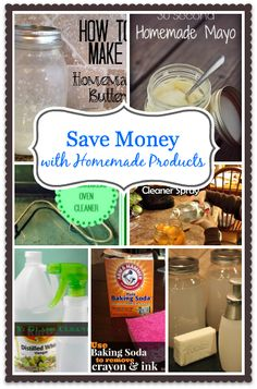 homemade products, budget, save money, homemad butter, money save, household cleaners, homemad product, diy product