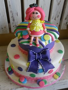Lalaloopsy Birthday Cake ~ so cute!