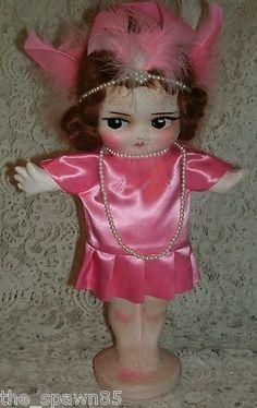 Antique Carnival Kewpie Flapper Doll Vintage | eBay