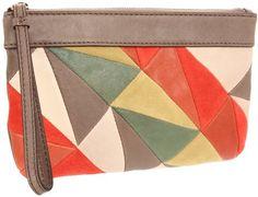 Fossil Jules Patchwork Wristlet Wallet