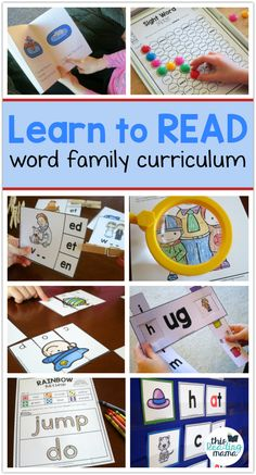 Learn to Read Curric