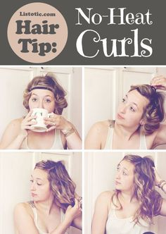hair tutorials, straight hair, headband, wavy hair, long hair, wavi hair, hairstyl, curly hair, heat curl