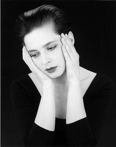 Isabella Rosellini, 1988 by Robert Mapplethorpe