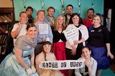 Un divertido photocall para una fiesta años 50! / A fun photocall for a 1950s party!