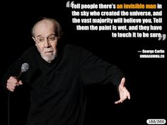 George Carlin - so true