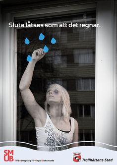 Poster, Stop pretend like it's raining