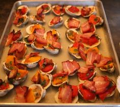 Let Lidia teach you how to make Clams Casino! Yum!