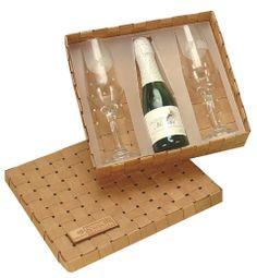 kit champagne para brinde