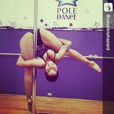 Whoa! Repost from @cocobiohazard #polelife #pole #poledance #polefit