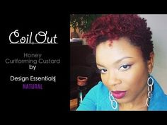 NATURAL HAIR: COIL OUT | SHORT TAPERED HAIR | Design Essentials