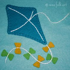 Kite Applique Block