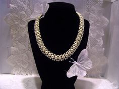 Glass Napier Faux Pearls By Napier For That by 4RLoveOfAntiques, $29.95