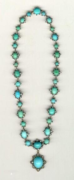 vintage turquoise jewelry.
