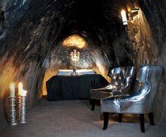 An ultra-modern, unusual underground home in the Sala Silver Mine (sweden)