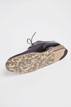 Dries Van Noten - Derby Shoe Black / Camouflage   TRÈS BIEN SHOP