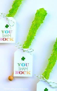 You (Sham) Rock!   St. Patrick's Day Idea